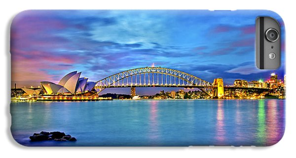 Sydney Skyline iPhone 7 Plus Case - Icons Of Sydney Harbour by Az Jackson
