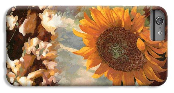 Sunflower iPhone 7 Plus Case - Il Girasole by Guido Borelli