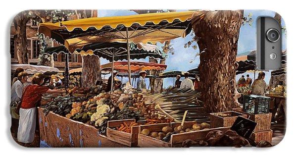 Onion iPhone 7 Plus Case - il mercato di St Paul by Guido Borelli