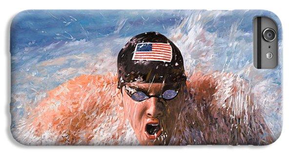 Dolphin iPhone 7 Plus Case - Il Nuotatore by Guido Borelli