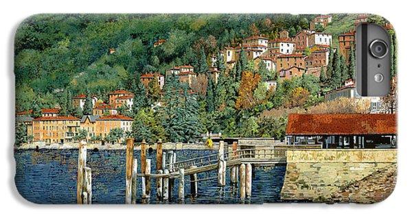 Lake iPhone 7 Plus Case - il porto di Bellano by Guido Borelli