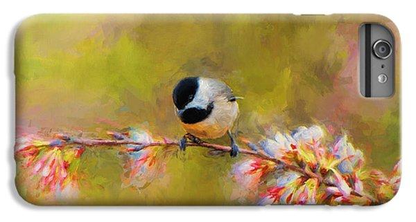 Impressionist Chickadee IPhone 7 Plus Case by Jai Johnson
