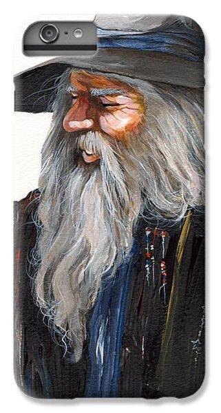 Wizard iPhone 7 Plus Case - Impressionist Wizard by J W Baker