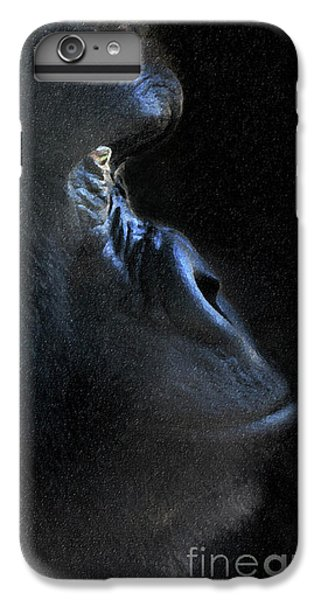 Gorilla In The Dark Large Canvas Art, Canvas Print, Large Art, Large Wall Decor, Home Decor, Photogr IPhone 7 Plus Case