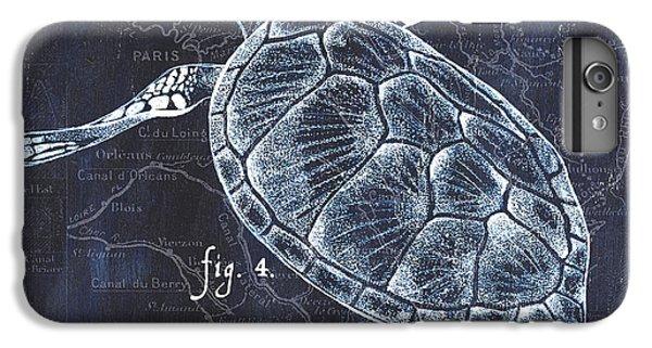 Turtle iPhone 7 Plus Case - Indigo Verde Mar 2 by Debbie DeWitt