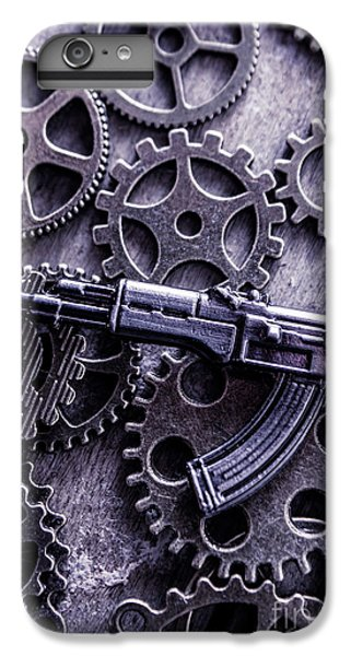 Warfare iPhone 7 Plus Case - Industrial Firearms  by Jorgo Photography - Wall Art Gallery