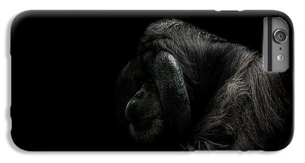Orangutan iPhone 7 Plus Case - Insecurity by Paul Neville