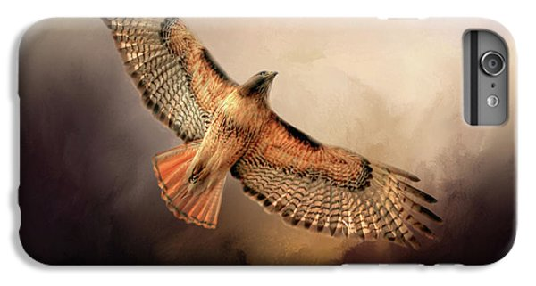 Buzzard iPhone 7 Plus Case - Into The Light by Donna Kennedy