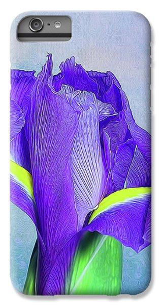Iris Flower IPhone 7 Plus Case by Tom Mc Nemar