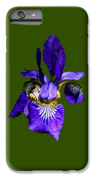 IPhone 7 Plus Case featuring the photograph Iris Versicolor by Mark Myhaver