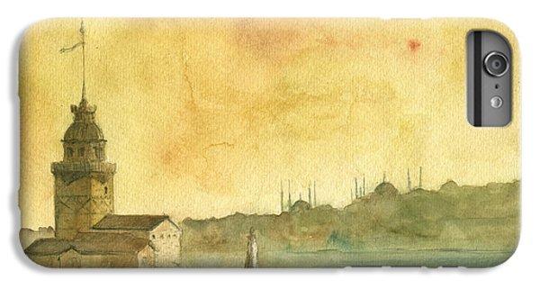 Turkey iPhone 7 Plus Case - Istanbul Maiden Tower by Juan Bosco