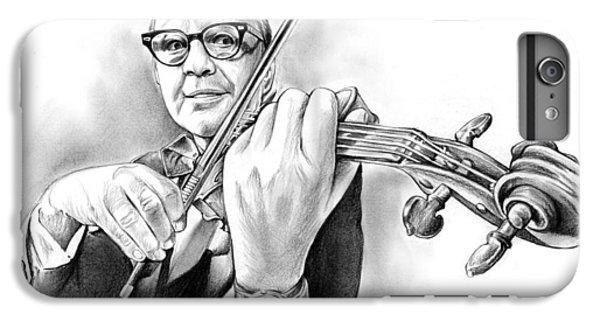 Violin iPhone 7 Plus Case - Jack Benny by Greg Joens