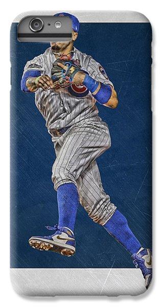 Chicago Cubs iPhone 7 Plus Case - Javier Baez Chicago Cubs Art by Joe Hamilton