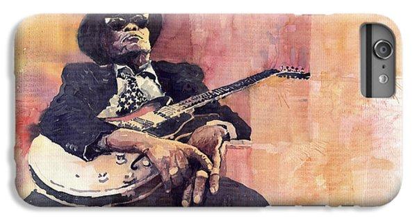 Jazz iPhone 7 Plus Case - Jazz John Lee Hooker by Yuriy Shevchuk