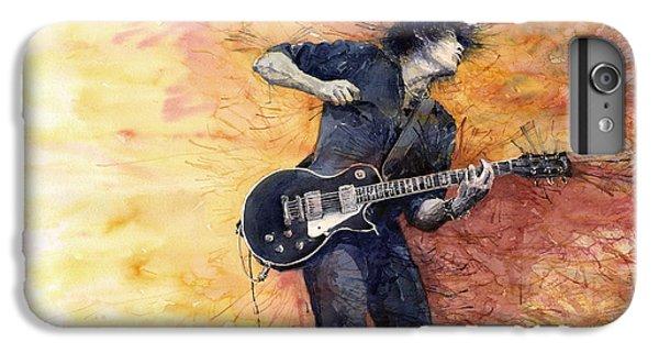 Jazz iPhone 7 Plus Case - Jazz Rock Guitarist Stone Temple Pilots by Yuriy Shevchuk