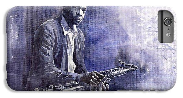 Figurative iPhone 7 Plus Case - Jazz Saxophonist John Coltrane 03 by Yuriy Shevchuk