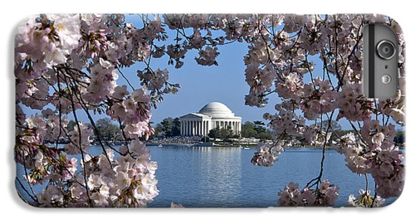 Jefferson Memorial On The Tidal Basin Ds051 IPhone 7 Plus Case by Gerry Gantt