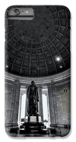 Jefferson Statue In The Memorial IPhone 7 Plus Case by Andrew Soundarajan