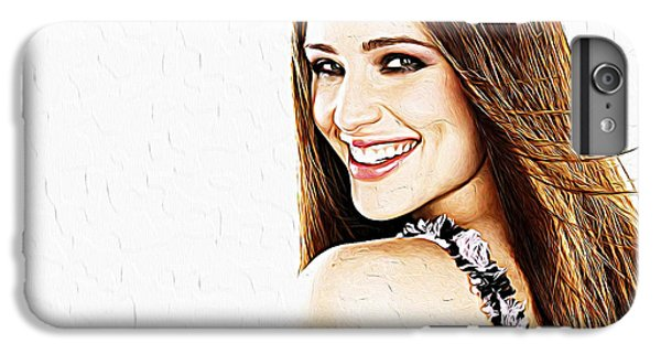 Ben Affleck iPhone 7 Plus Case - Jennifer Garner by Iguanna Espinosa