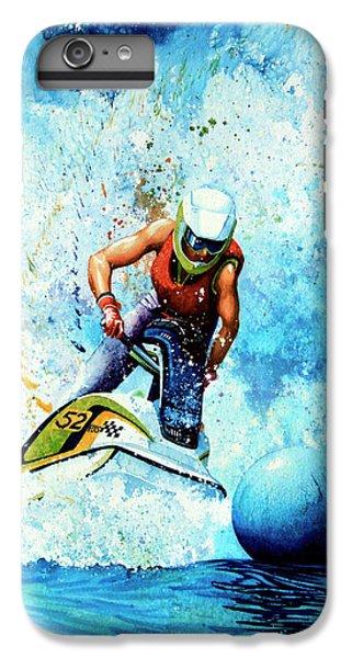 Jet Ski iPhone 7 Plus Case - Jet Blue by Hanne Lore Koehler
