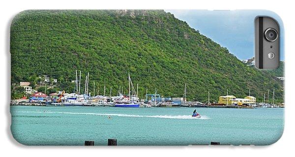 Jet Ski iPhone 7 Plus Case - Jet Ski On The Lagoon Caribbean St Martin by Toby McGuire