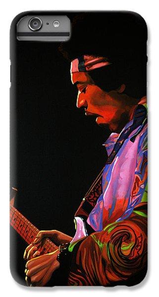 Knight iPhone 7 Plus Case - Jimi Hendrix 4 by Paul Meijering