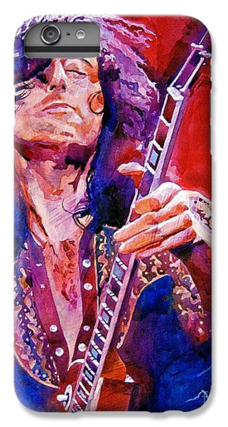 Jimmy Page IPhone 7 Plus Case by David Lloyd Glover