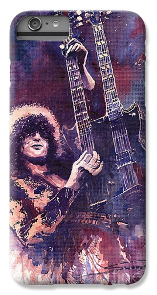 Musicians iPhone 7 Plus Case - Jimmy Page  by Yuriy Shevchuk
