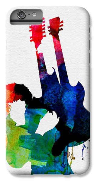 Jimmy Watercolor IPhone 7 Plus Case by Naxart Studio