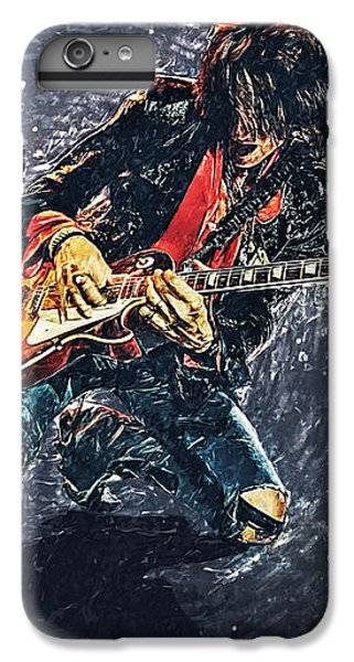Joe Perry IPhone 7 Plus Case by Taylan Apukovska