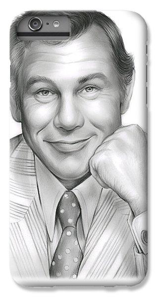Johnny Carson IPhone 7 Plus Case by Greg Joens