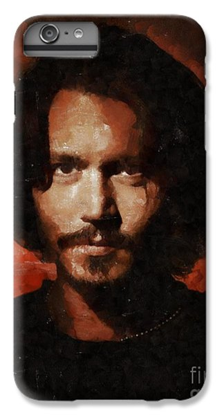 Johnny Depp, Hollywood Legend By Mary Bassett IPhone 7 Plus Case by Mary Bassett
