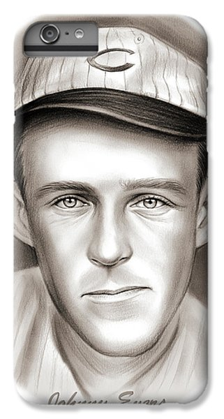 Chicago Cubs iPhone 7 Plus Case - Johnny Evers by Greg Joens