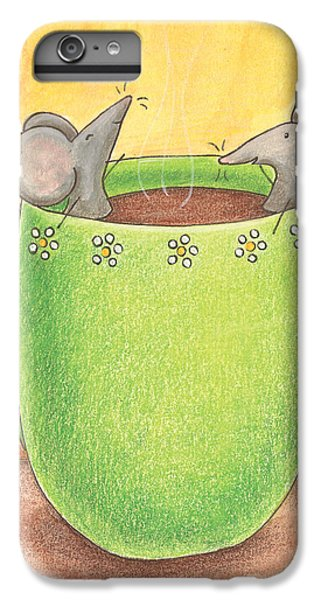 Join Me In A Cup Of Coffee IPhone 7 Plus Case by Christy Beckwith