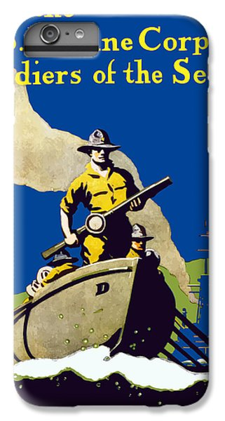 Marine iPhone 7 Plus Case - Join The Us Marines Corps by War Is Hell Store
