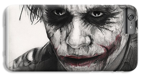 Joker Face IPhone 7 Plus Case by James Holko