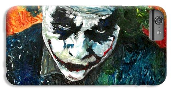 Heath Ledger iPhone 7 Plus Case - Joker - Heath Ledger by Marcelo Neira