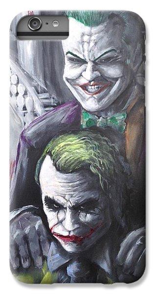Jokery In Wayne Manor IPhone 7 Plus Case by Tyler Haddox