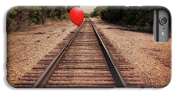 Train iPhone 7 Plus Case - Journey by Tom Mc Nemar
