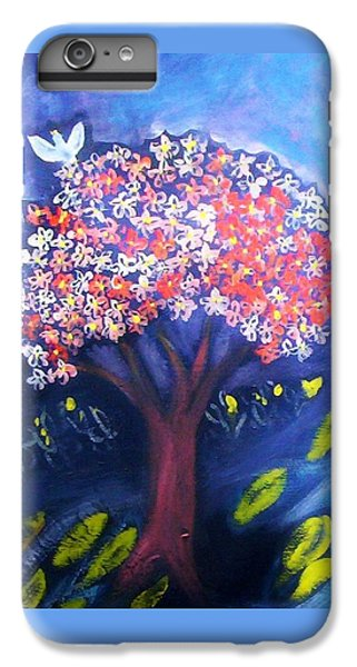 IPhone 7 Plus Case featuring the painting Joy by Winsome Gunning