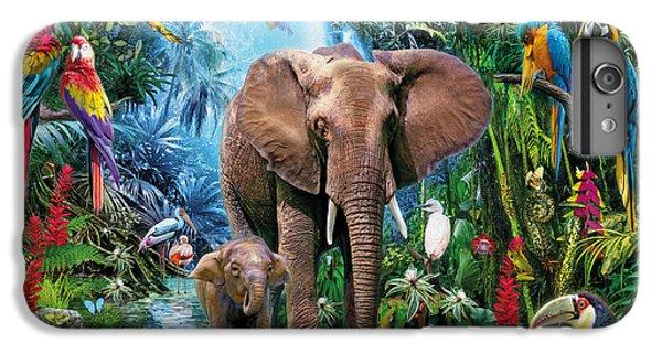 Toucan iPhone 7 Plus Case - Jungle by Jan Patrik Krasny