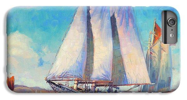 Sailboat iPhone 7 Plus Case - Just Breezin' by Steve Henderson