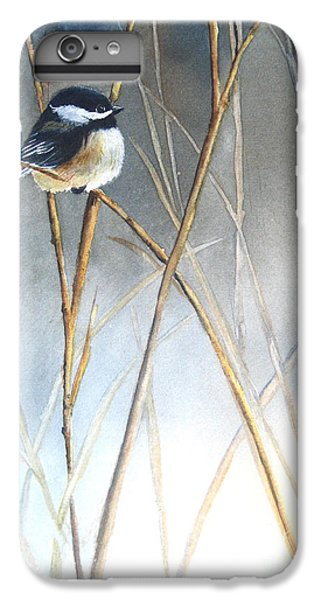 Chickadee iPhone 7 Plus Case - Just Thinking by Patricia Pushaw