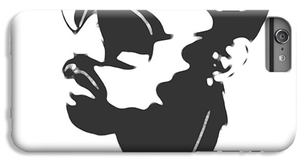 Kanye West Silhouette IPhone 7 Plus Case by Dan Sproul