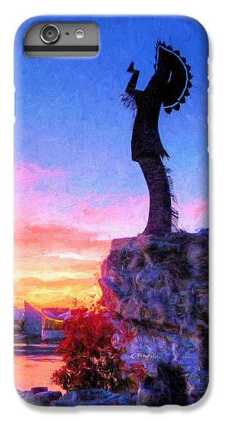 Keeper Of The Plains IPhone 7 Plus Case by JC Findley