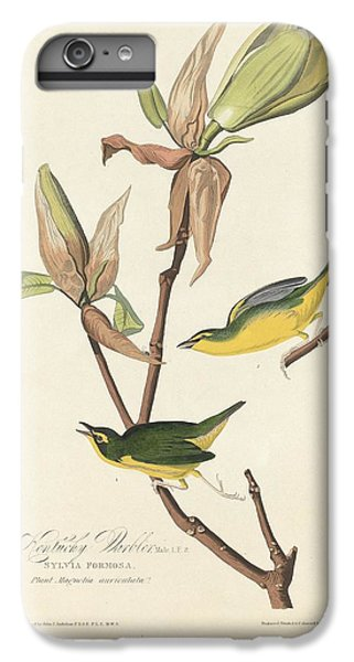 Kentucky Warbler IPhone 7 Plus Case by Dreyer Wildlife Print Collections