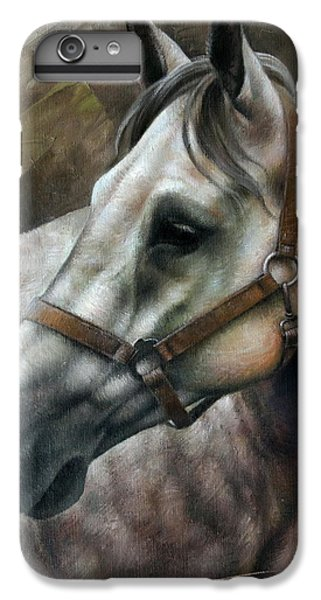 Horse iPhone 7 Plus Case - Kogarashi by Arthur Braginsky