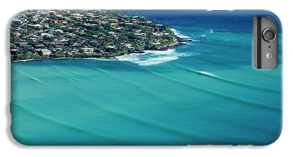 Helicopter iPhone 7 Plus Case - Koko Head Pastels by Sean Davey