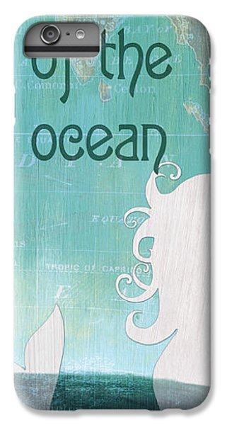 Seahorse iPhone 7 Plus Case - La Mer Mermaid 1 by Debbie DeWitt