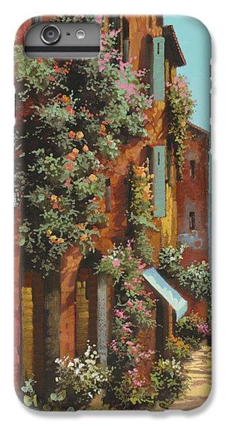 Lake iPhone 7 Plus Case - La Strada Verso Il Lago by Guido Borelli